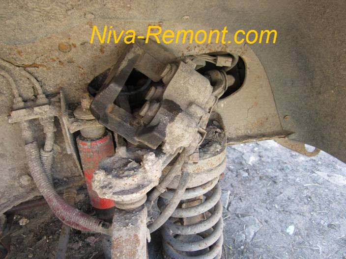 Тормозные суппорта ваз 2121 ремонт