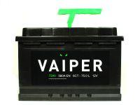 АКБ VAIPER 75Ah/580A  (Р) Гарантия 12 мес.