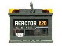 АКБ Reactor 62Ah/620A  (Р) (Аком) Гарантия 36 мес.