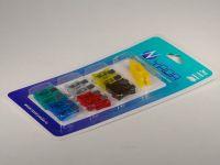 Предохранители ножевые norma FT (12 шт) с пинцетом (YADA)