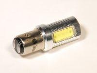Лампа светодиодная P21/5W BA15S белый 4-SMD (YADA)