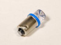 Лампа светодиодная T4W BA9s (повт.ук.пов.габар.) конус синий