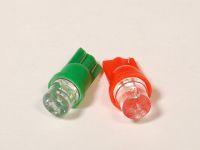 Лампа светодиодная  W5W 2,1*9,5d (осв.ном.зн,габар.) б/ц конус белый и др. цвета