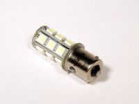 Лампа светодиодная P21W BA15S 1 конт.(ук.пов, стоп) белый S25 18-SMD