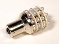 Лампа светодиодная P21W BA15S 1 конт.(ук.пов.,стоп) белый 36-LED