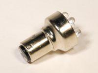 Лампа светодиодная P21/5W BAY15d 2-х конт.(ук.пов.,стоп) (YADA) 6-LED