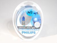 Лампа H1 55W (Philips)  DIAMOND VISION (2 шт)