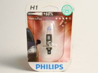 Лампа H1 55W +60% (Philips)  VISION PLUS