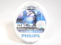 Лампа H4 60/55W (Philips)  BLUE VISION ULTRA 4000К (2шт.+2шт.W5W)