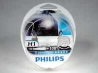 Лампа H1 55W +100% (Philips)  X-TREME VISION (2шт)