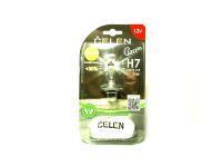Лампа H7 55W +30% (Celen) Classic (прозрачная) блистер, с перчаткой