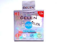 Лампа HOD 12V H1 55W +50% Crystal (Celen) с переходн.