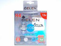 Лампа HOD 12V H4 100/80W +50% Crystal (Celen) с переходн.