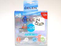 Лампа HOD 12V H8 35W +50% Night Ending (Celen) с переходн.