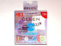 Лампа HOD 12V HB3 65W +50% Crystal (Celen) с переходн.