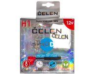 Лампа HOD 12V H1 100W +50% Crystal (Celen) с переходн.