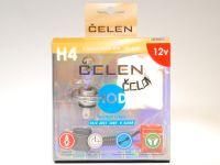 Лампа HOD 12V H4 100/80W +50% 4 Season (Celen) с переходн.