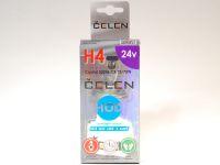 Лампа HOD 24V H4 75/70W +50% Crystal (Celen)