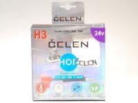 Лампа HOD 24V H3 70W +50% Crystal (Celen) с переходн.