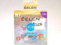 Лампа HOD 24V H7 70W +50% 4 Season (Celen) с переходн.