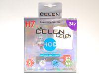 Лампа HOD 24V H7 70W +50% Crystal (Celen) с переходн.
