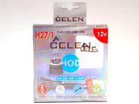 Лампа HOD 12V H27/1 27W +50% Crystal (Celen) с переходн.