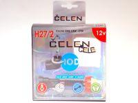 Лампа HOD 12V H27/2 27W +50% Crystal (Celen) с переходн.