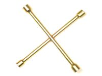 Ключ балонный крест 17х19х21х23  Ермак