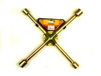 Ключ балонный крест 17х19х21х23 усиленный  Ермак
