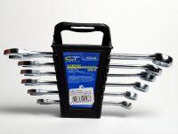 Набор ключей комб. 8-17 мм, 6 шт,  полиров.СИБРТЕХ