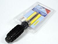 Отвертка с силовой ручкой с насадками (5 предметов)