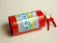 Огнетушитель ОП-1 с манометром 1л