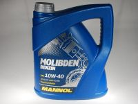 Mannol Molibden benzin 10w40 4 л