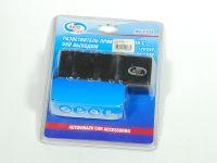 Разветвитель прикуривателя на 3 гнезда + 1 USB (AUTOVIRAZH)