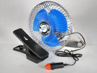 """Вентилятор салона на прищепке (AUTOVIRAZH), 12V, 15см (6"""")"""