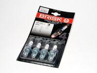 Свечи Brisk DR15TC-1 16кл. 3-х электродные (4 шт)