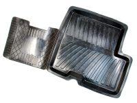 Коврики салонные Ларгус резиновые,фургон 2 места (к-т)
