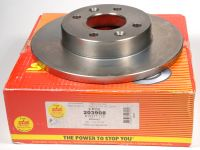 Диск тормозной передний ЛОГАН  238 мм (203908 аналог 7700704705) (SBS) комплект