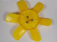 Крыльчатка вентилятора 2101-07/2121 (6-ти лопостная) (Пластик)