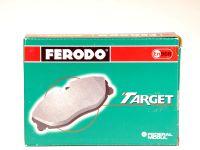 Колодки тормозные передние 2101-2107 зеленые (Ferodo)