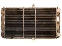 Радиатор охлаждения 21102 (2-х рядный) (медь) (Оренбург)