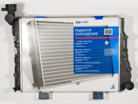 Радиатор охлаждения 2104, 2105 (алюм) без датчика (ДААЗ)