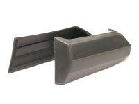 Накладки бампера 2106 л/пр (2шт) (Пластик)