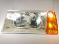 Блок-фара 2108-099, 2126 левая ( поворотник желтый) (ОСВАР)
