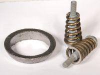 Ремкомплект нейтрализатора 2110-12 (уплотн.кольцо+2болта с пруж.+прокл.пр.тр.)(Тольятти)
