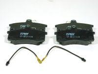 Колодки тормозные передние 2110-15 (TRW-Lucas) с датчиком, GDB1446