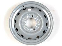 Диск колесный 2121 (ВАЗ) R-16 серебристый