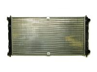 Радиатор охлаждения Нива Шевроле  (алюм) (Wonderful)