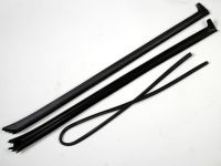 Уплотнитель лобового стекла 2170 бок.+ верхн. резинка (к-т л/пр) наружная