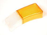 Рассеиватель переднего фонаря 21251 правый (к-т желт. + бел.)
